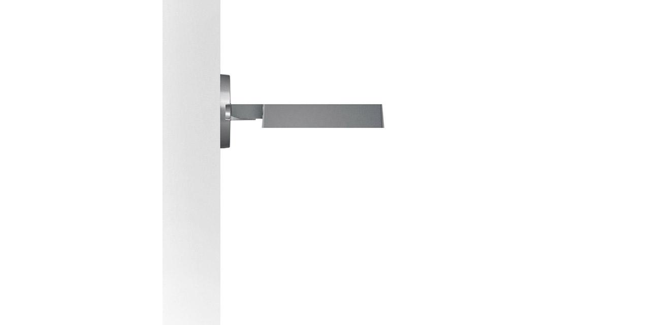 Illuminazione Led A Muro the platea pro wall mounted 296x214mm light - iguzzini