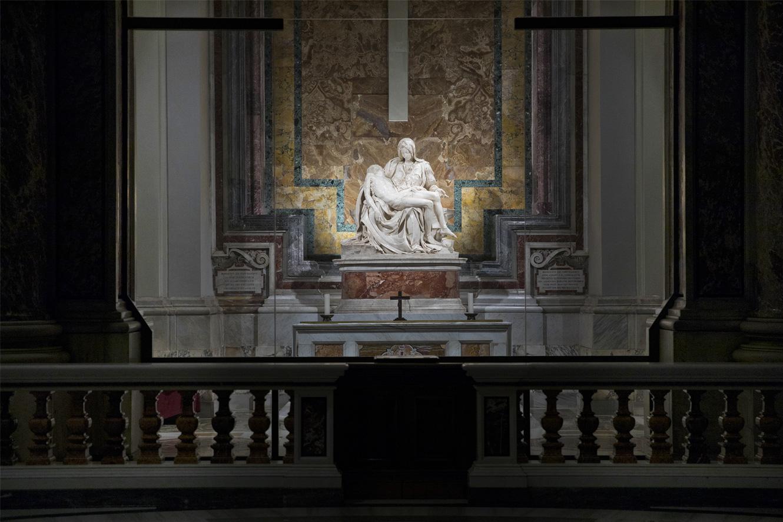 La Pieta' di Michelangelo