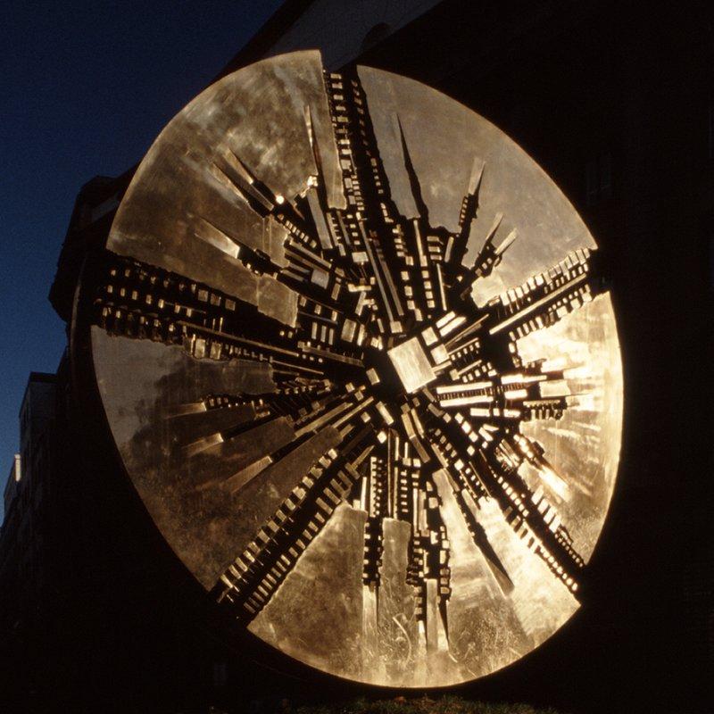 Disco Solare - Arnaldo Pomodoro