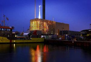 L'usine d'incinération Lynetten