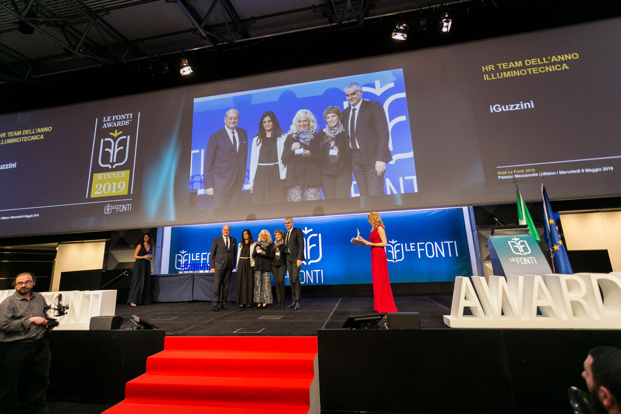 Un premio che riconosce l'efficienza del team HR