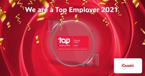 iGuzzini illuminazione est le Top Employer Italia 2021