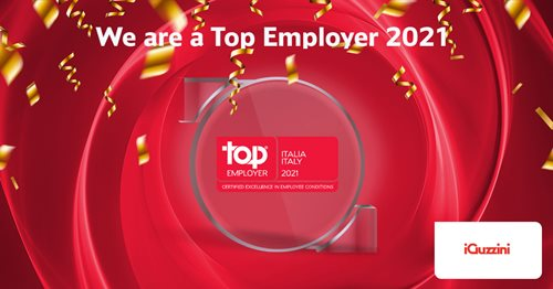 iGuzzini illuminazione es Top Employer Italia 2021