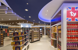 The WHSmith store at Gatwick Airport