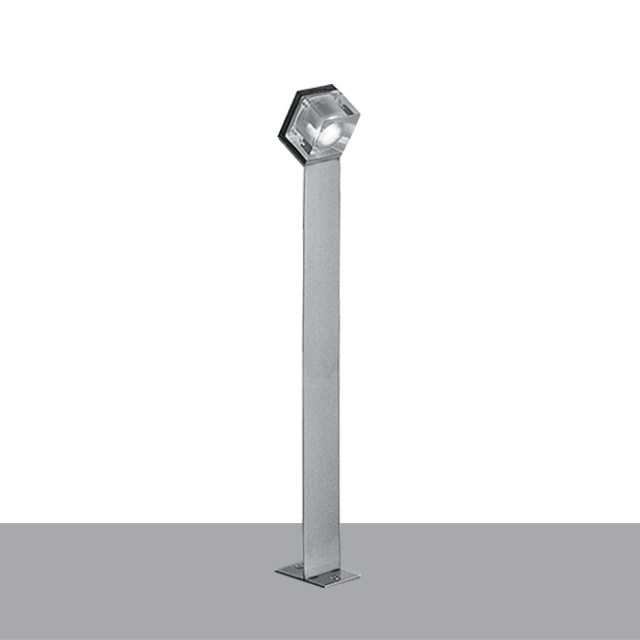 Glim Cube Bollard With Power Supply