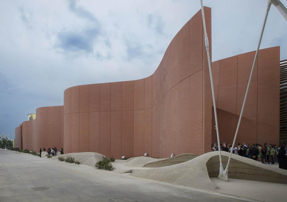 The United Arab Emirates Pavilion Expo Milano 2015 Iguzzini