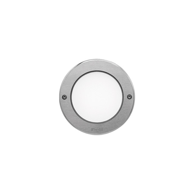 Ledplus - stainless steel frame with screws round