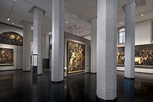 I saloni Selva - Lazzari delle Gallerie dell'Accademia