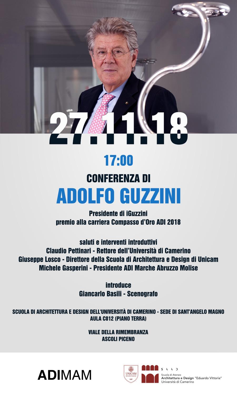 Adolfo Guzzini si racconta al SAAD