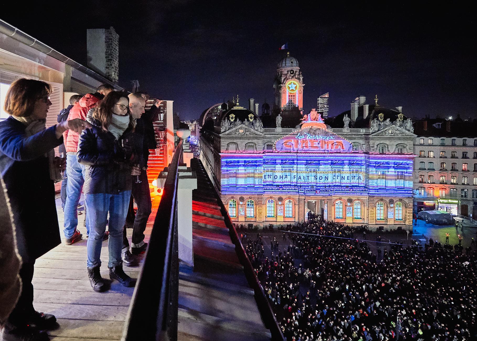 iGuzzini à la Fête des Lumières de Lyon