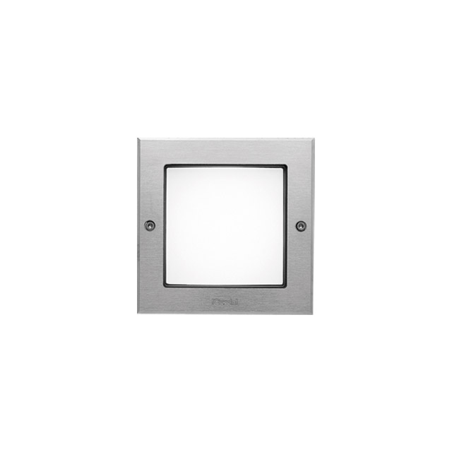 Ledplus - stainless steel frame with screws square