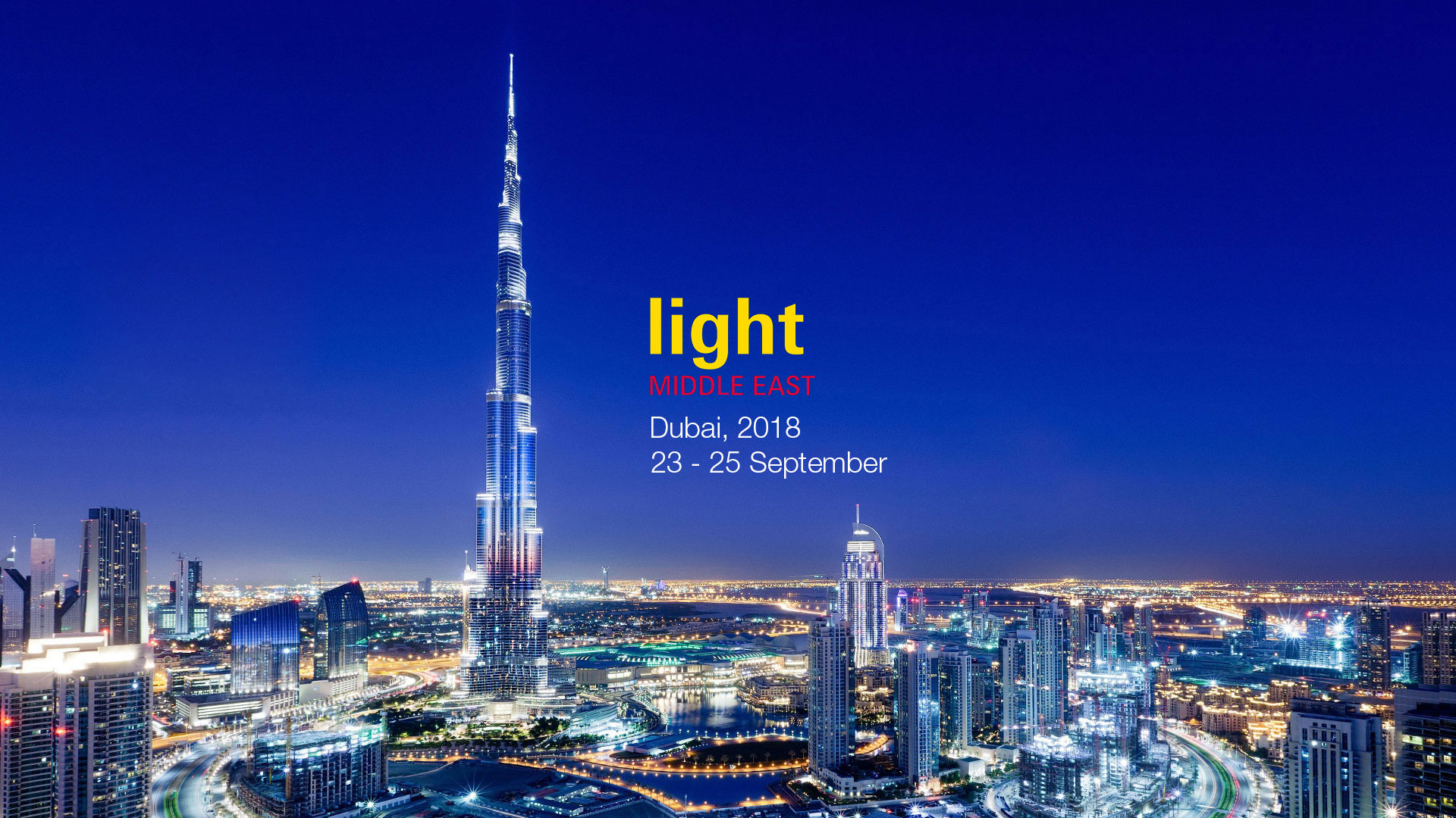 Light Middle East di Dubai