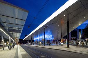 Straßenbahn- und Busbahnhofs Königsplatz
