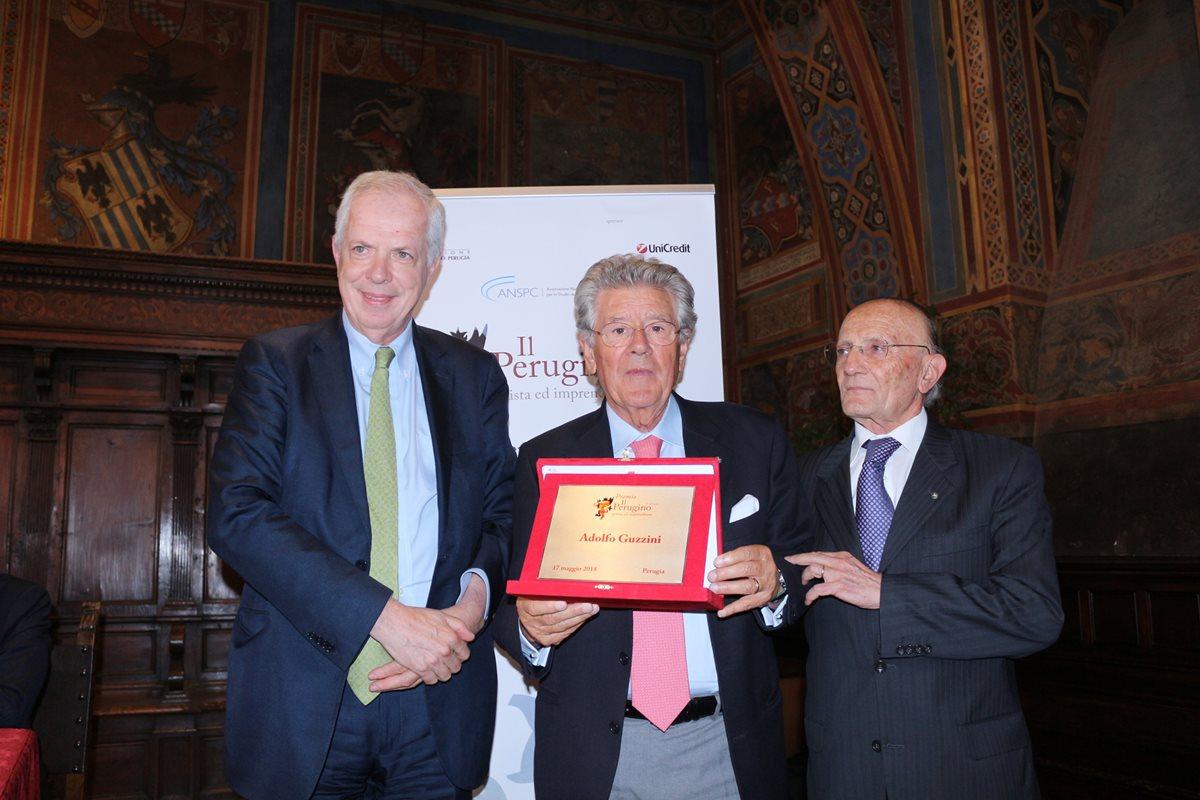 """Adolfo Guzzini riceve il premio """"Il Perugino, artista ed imprenditore"""""""